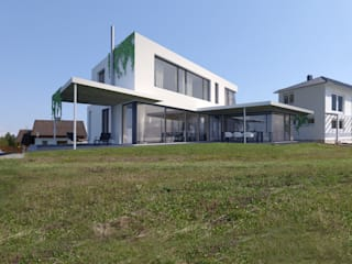 AL ARCHITEKT - in Wien Maisons modernes Verre Blanc
