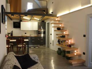 Salones de estilo  de Ossigeno Architettura