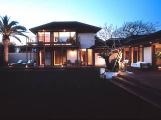Modern houses by 小林福村設計事務所/KOBAYASHIFUKUMURA ARCHITECTS Modern