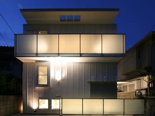 White Cube House モダンな 家 の K. Shindo Architects and Associates モダン