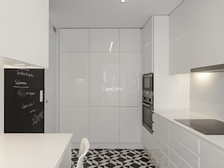 Cocinas de estilo minimalista de VSS ARQ Minimalista