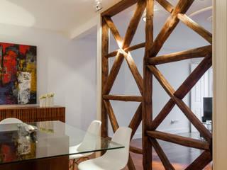 Apartamento São Caetano Salas de jantar minimalistas por Vanessa Santos Silva | Arquiteta Minimalista