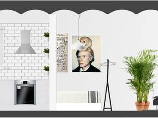 Casas de estilo  por SUIN design studio, Moderno