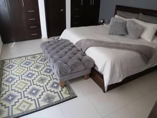 Tapetes:  de estilo  por Casa Porfiria