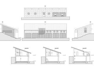 Casa nel bosco Case moderne di Studiopp8 Moderno