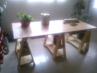 Departamento Seis Study/officeDesks Solid Wood