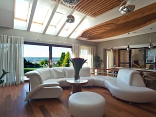 Modern living room by Grafick sp. z o. o. Modern