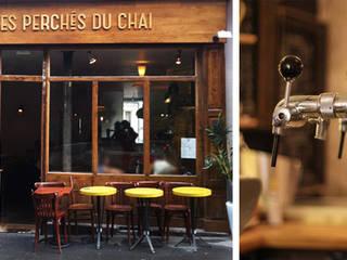 Restaurant : Les Perchés du Chai Salon classique par Agence Florence Rigon Classique