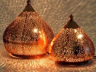 Orientalische Stehlampen in Tropfenform:  Schlafzimmer von Guru-Shop