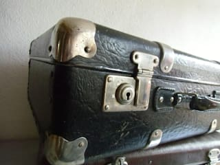vintage Koffer - Vulkanfiber - VEB Kindelbrück:   von maduett,