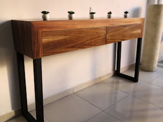 Muebbles madera tipo Parota de Diseñería 72ocho10 Minimalista