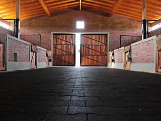 Garage / Hangar rustique par DDC.ARQ Rustique