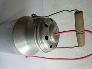 upcycling Sieb Lampe:   von maduett,