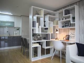 Camera da letto in stile  di design seoha, Moderno
