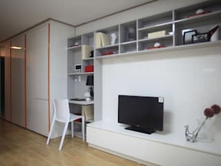 one room : design seoha의  거실
