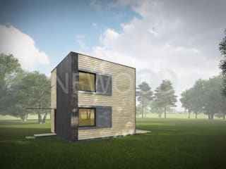 Maisons originales par NEWOOD - Современные деревянные дома Éclectique