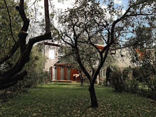 Fürst & Niedermaier, Architekten Jardines de estilo moderno Madera
