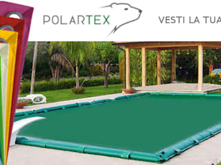 Copertura Polartex COLOR 650:  in stile  di Bsvillage Piscine