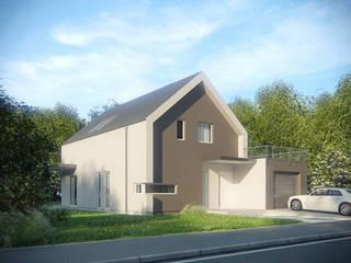 Projekty domów - House 18 Majchrzak Pracownia Projektowa Nowoczesne domy