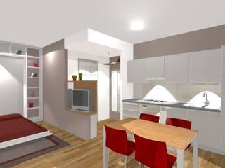 Cocinas de estilo moderno de Bludiprussia design Moderno