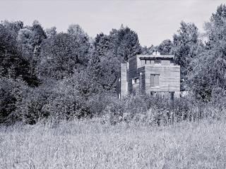 Fürst & Niedermaier, Architekten Rumah Gaya Rustic Kayu