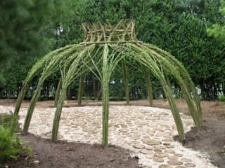 Dotto Francesco consulting Green Rustic style garden