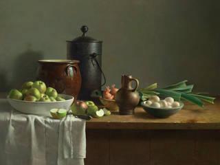 Groentestilleven:   door Museum Helmantel