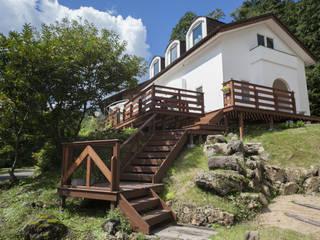 seed+ GUEST HOUSE  (ゲストハウスとして使える、モデルハウス): 拡運建設株式会社が手掛けたです。,