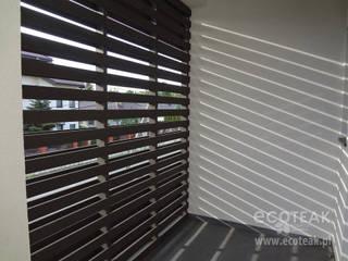 Przegroda / łamacz światła EcoTeak od EcoTeak Kompozyt Drewa