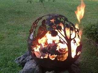 Feuerkugel Buddha von Freelancer Project Ausgefallen