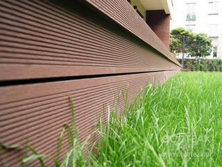 Taras, balkony i zabudowy wnęk - EcoTeak / miedziany brąz od EcoTeak Kompozyt Drewa