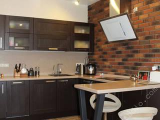 Мечты о лофте Кухни в эклектичном стиле от INTERIOR PROJECT studio Эклектичный