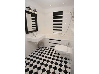 IDAFO projektowanie wnętrz i wykończenie Modern Bathroom Tiles Multicolored