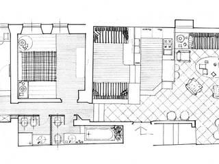 Casa vacanze al mare VITTORIO GARATTI ARCHITETTO Soggiorno moderno