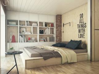 Bedroom by The Goort, Industrial