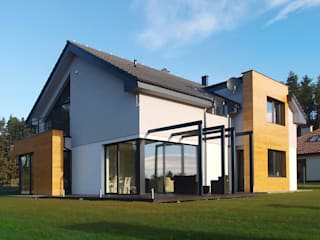 Casas de estilo  por Pracownia Projektowa Wioleta Stanisławska
