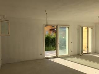 Appartamento Privato 2015: Soggiorno in stile in stile Moderno di MATTEO CHIESA ARCHITETTO