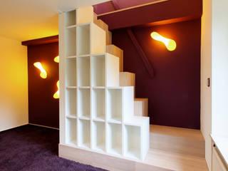 Kinderzimmer auf 2 Etagen: modern  von K&R Design GmbH,Modern