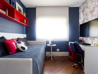 Danielle Tassi Arquitetura e Interiores Moderne Schlafzimmer