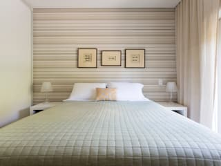 Habitaciones de estilo moderno por Danielle Tassi Arquitetura e Interiores