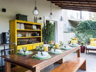 Danielle Tassi Arquitetura e Interiores Modern terrace