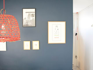 Appartement Clamart - Salon après chantier: Salon de style  par * aurelie.rubin-chabrier . architecture . architecture intérieure .