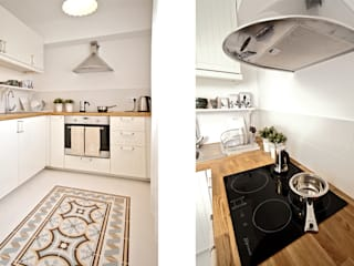 Кухня в рустикальном стиле от IDAFO projektowanie wnętrz i wykończenie Рустикальный