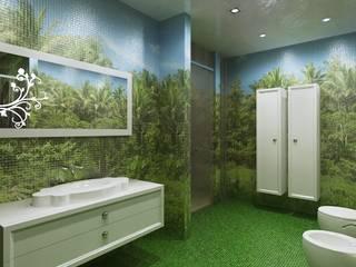 Classic style bathroom by Design studio of Stanislav Orekhov. ARCHITECTURE / INTERIOR DESIGN / VISUALIZATION. Classic