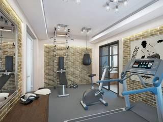 Classic style gym by Design studio of Stanislav Orekhov. ARCHITECTURE / INTERIOR DESIGN / VISUALIZATION. Classic