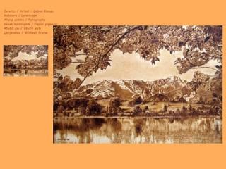 Anatolian Wood Art – Saban Komsu eserleri:  tarz