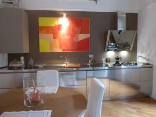 SteellArt Cocinas de estilo minimalista