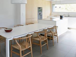 un esprit scandinave Cuisine minimaliste par Emilie Bigorne, architecte d'intérieur CFAI Minimaliste