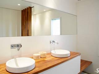 Emilie Bigorne, architecte d'intérieur CFAI Minimalist style bathroom