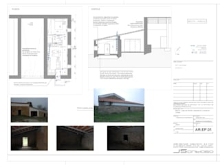 JOÃO SANTIAGO - SERVIÇOS DE ARQUITECTURA Rustic style house
